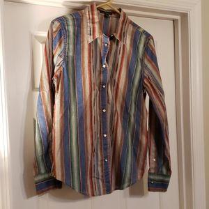 Ralph Lauren Lauren M Western Shirt
